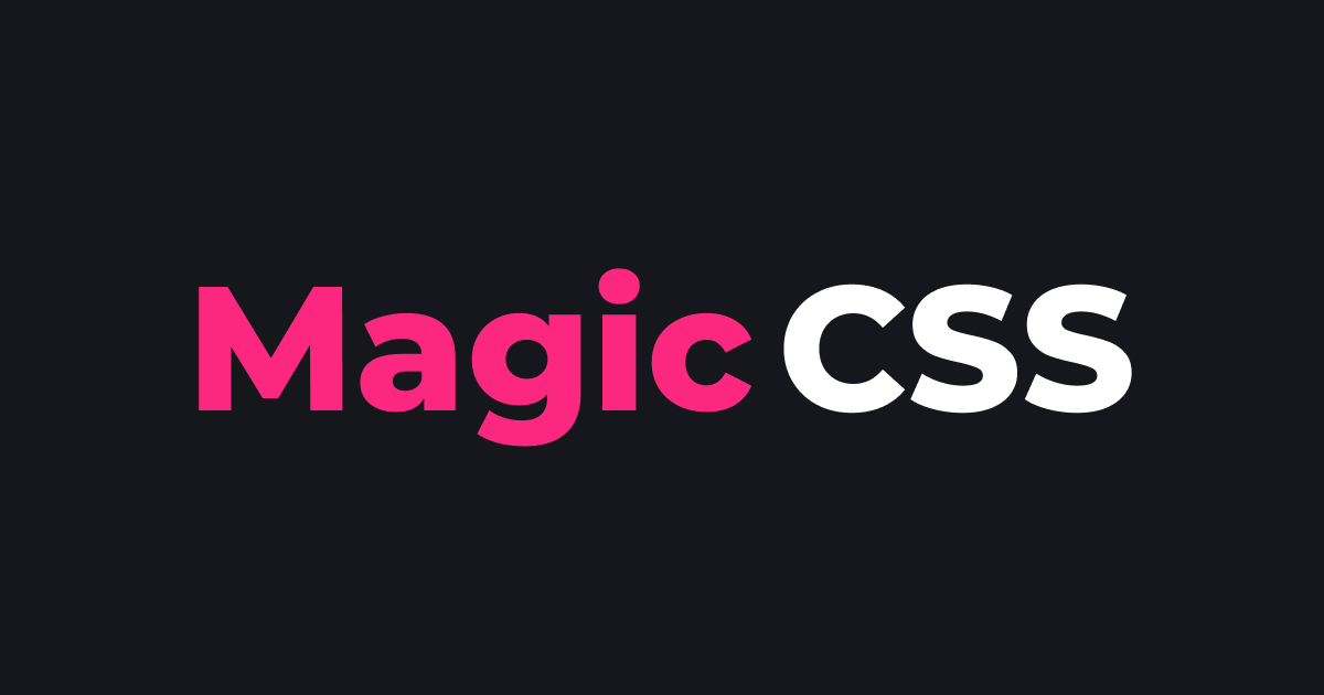 Magic CSS animations