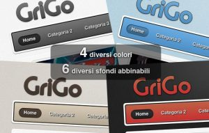 Image for Tema WordPress Grigo by miniMAC