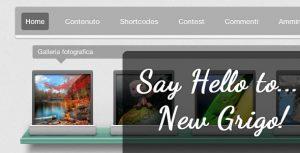 Image for Say Hello to… New Grigo WordPress Theme!