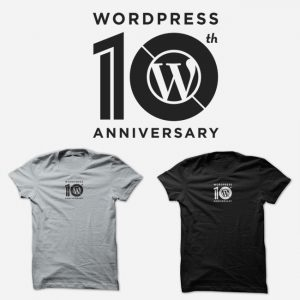 Image for 10 anni di WordPress ed una maglietta per celebrarli