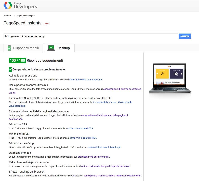 google_page_speed_wordpress_100