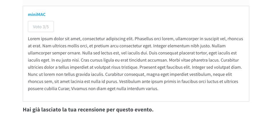 esempio_recensione_gia_inserita_wordpress